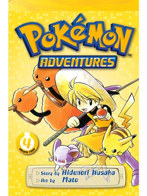 cover image of Pokémon Adventures, Volume 4