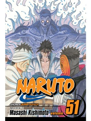 cover image of Naruto, Volume 51