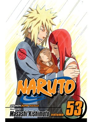 cover image of Naruto, Volume 53