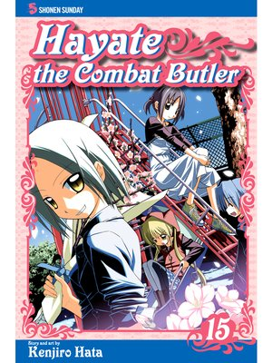cover image of Hayate the Combat Butler, Volume 15
