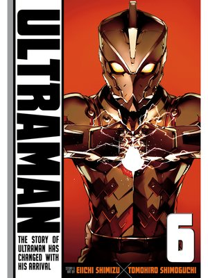 cover image of Ultraman, Volume 6