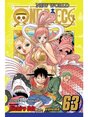 cover image of One Piece, Volume 63