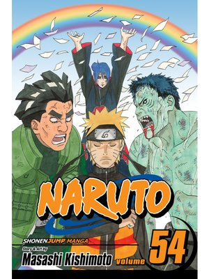 cover image of Naruto, Volume 54