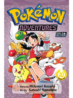 cover image of Pokémon Adventures, Volume 10