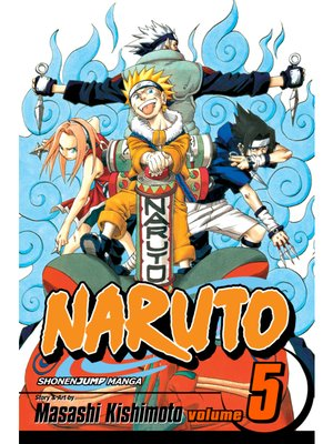 cover image of Naruto, Volume 5