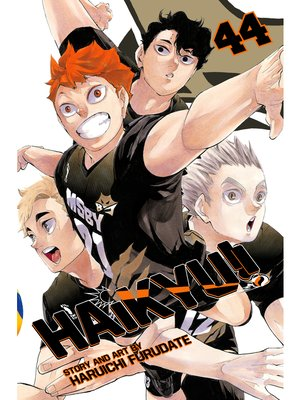 cover image of Haikyu!!, Volume 44