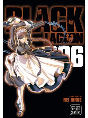 cover image of Black Lagoon, Volume 6