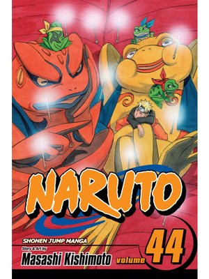 cover image of Naruto, Volume 44
