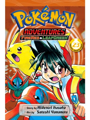 cover image of Pokémon Adventures, Volume 23