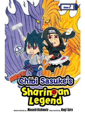 cover image of Naruto: Chibi Sasuke's Sharingan Legend, Volume 2