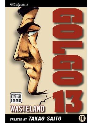 cover image of Golgo 13, Volume 10