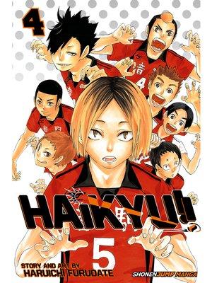 cover image of Haikyu!!, Volume 4
