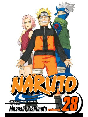 cover image of Naruto, Volume 28