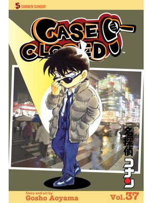 cover image of Case Closed, Volume 37