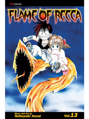 cover image of Flame of Recca, Volume 13