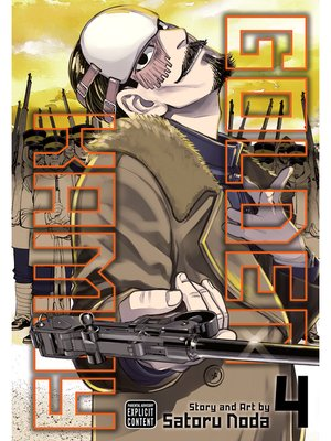 cover image of Golden Kamuy, Volume 4