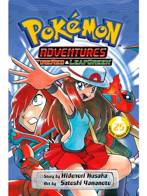 cover image of Pokémon Adventures, Volume 25