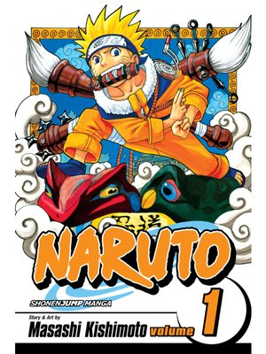 cover image of Naruto, Volume 1
