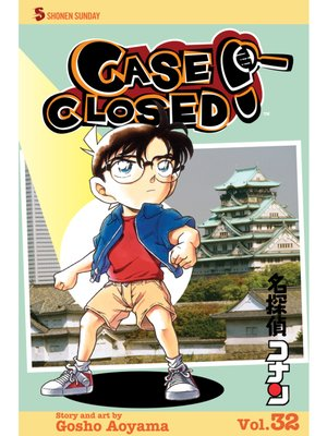 cover image of Case Closed, Volume 32