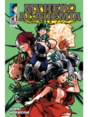 cover image of My Hero Academia, Volume 22