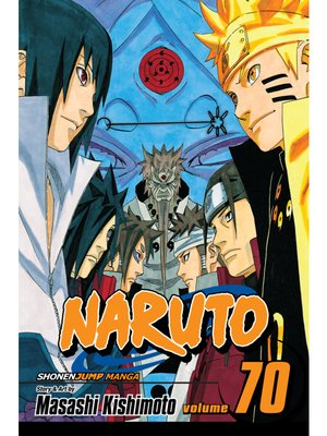 cover image of Naruto, Volume 70