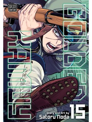 cover image of Golden Kamuy, Volume 15