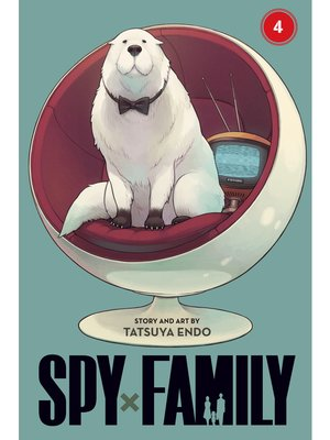 cover image of Spy x Family, Volume 4