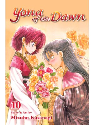 cover image of Yona of the Dawn, Volume 10