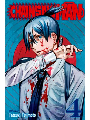 cover image of Chainsaw Man, Volume 4