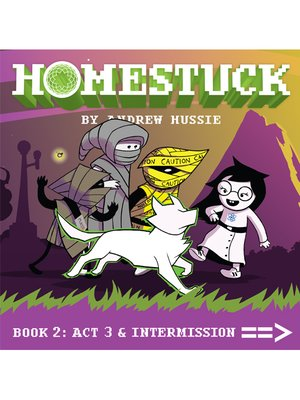 cover image of Homestuck, Book 2