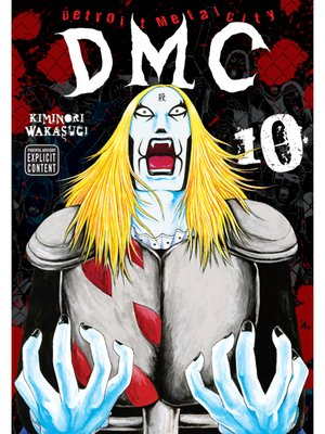cover image of Detroit Metal City, Volume 10