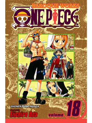 cover image of One Piece, Volume 18