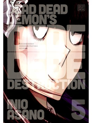 cover image of Dead Dead Demon's Dededede Destruction, Volume 5