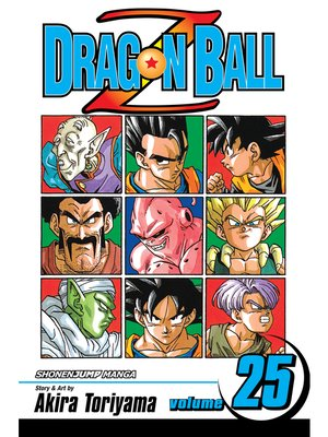 cover image of Dragon Ball Z, Volume 25