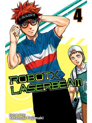 cover image of ROBOTxLASERBEAM, Volume 4