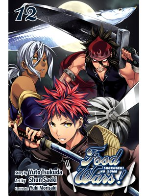cover image of Food Wars!: Shokugeki no Soma, Volume 12