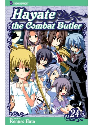cover image of Hayate the Combat Butler, Volume 24