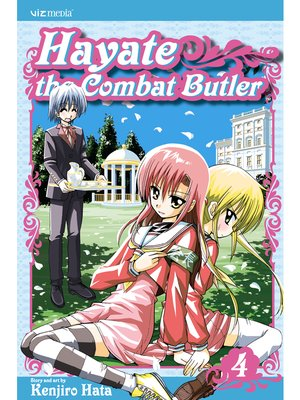 cover image of Hayate the Combat Butler, Volume 4