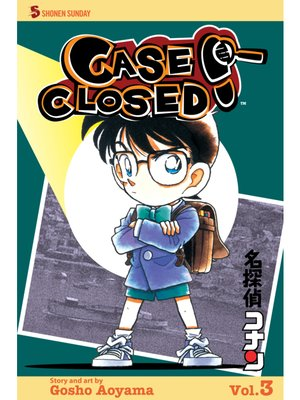 cover image of Case Closed, Volume 3