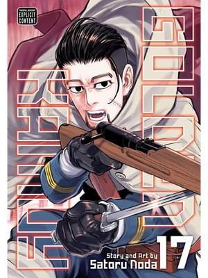 cover image of Golden Kamuy, Volume 17