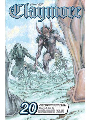 cover image of Claymore, Volume 20