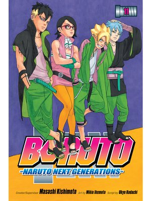 cover image of Boruto: Naruto Next Generations, Volume 11