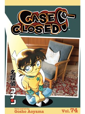 cover image of Case Closed, Volume 74