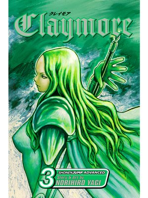 cover image of Claymore, Volume 3