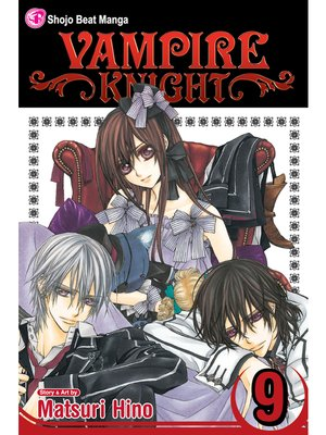 cover image of Vampire Knight, Volume 9