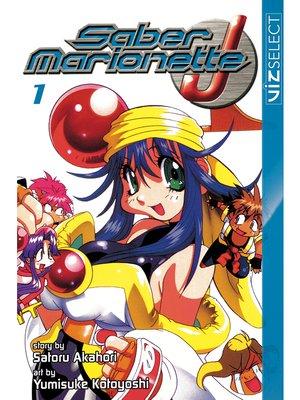 cover image of Saber Marionette J, Volume 1