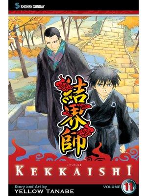 cover image of Kekkaishi, Volume 11