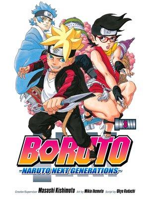 cover image of Boruto: Naruto Next Generations, Volume 3