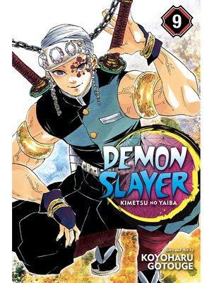 cover image of Demon Slayer: Kimetsu no Yaiba, Volume 9