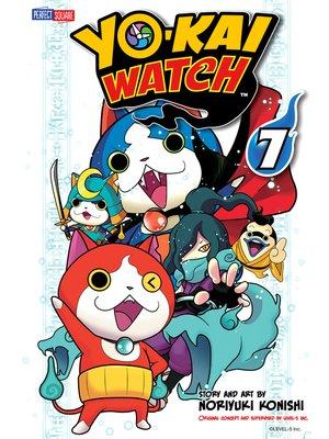 cover image of YO-KAI WATCH, Volume 7